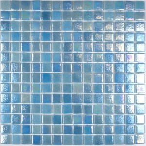 Caribe Iridescent Glass Mosaic