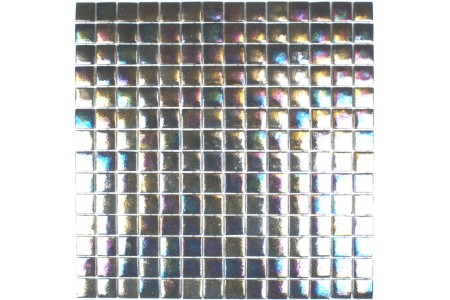 Levanzo Iridescent Glass Mosaic