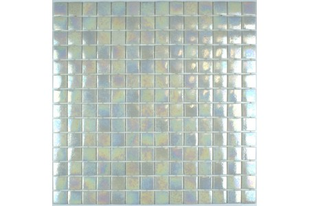 Palmaria Iridescent Glass Mosaic