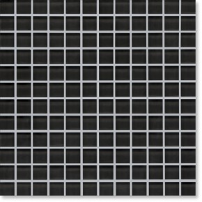 Crystal Glass Black Gloss Mosaic