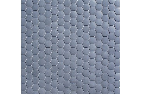 Stone Charcoal Hexagonal Mosaic
