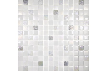 Texturas Ice Textured Glass Mosaic