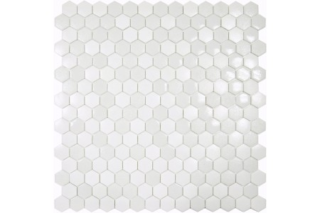 Texturas Sol Hexagonal Textured Glass Mosaic