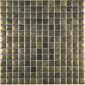 Urban Chic Bronze Metallic Glass Mosaic