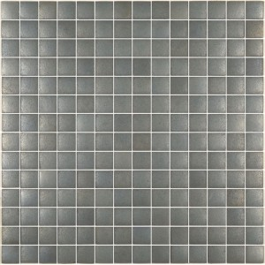 Urban Chic Cast Iron Metallic Glass Mosaic