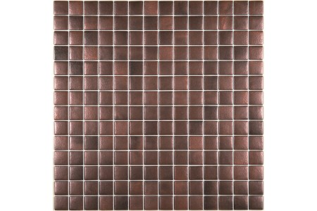 Urban Chic Iron Oxide Metallic Glass Mosaic