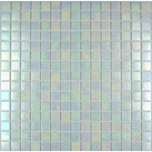 Iridium Iridescent Glass Mosaic Oyster