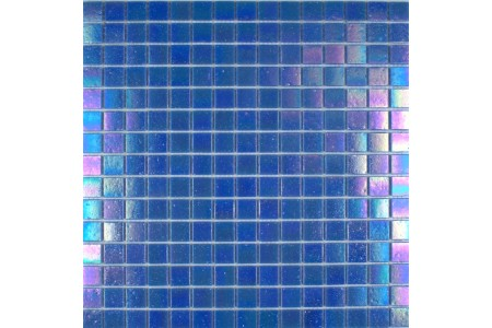Iridium Iridescent Glass Mosaic Azure