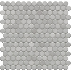 Jasba Loop Light Diamond Grey Circular Mosaic