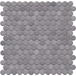 Jasba Loop Diamond Grey Circular Mosaic