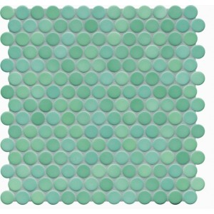 Jasba Loop Sea Green Circular Mosaic