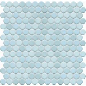 Jasba Loop Light Aqua Anti Slip Circular Mosaic